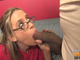 Busty kylie worthy fucked by black dick