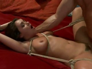 Alluring Charley Chase gets slammed up her wet snatch