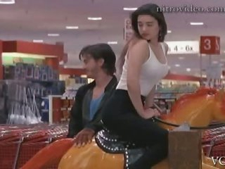 Gorgeous Jennifer Connelly Teasing Guys with That Ride