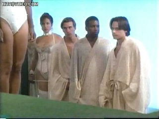 Super Hot Dana Delany and Lots Of Sexy Babes Walking Around Topless