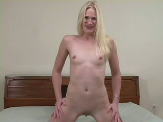 Hairy Blonde Babe Aaliyah Jolie Gets Her Pussy Fucked and Jizzed On