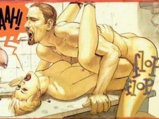 Erotic Hardcore Sex Comic