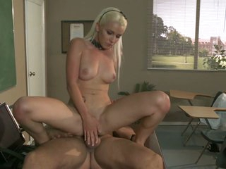 Tart Stevie Shae rides this prick up her soaking snatch