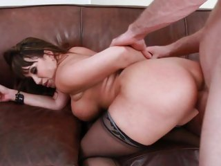 Horny Ava Devine gets her moist pussy pummelled