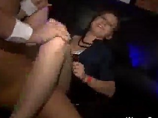 Girl Gets Fucked During A Party