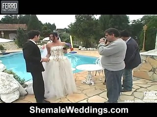 Carol cocky shemale bride