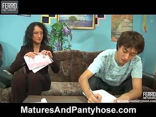 Regina&Jack mature pantyhose movie