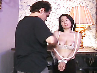 Slaver Rick nearly pulls her nipple right off