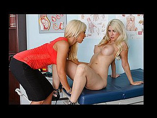 When Jazy's normal doctor Yancee is replaced by a recent doctor, that babe's hesitant at first. When the beautiful Jessica Lynn informs Jazy that that babe'll be her doctor, Jazy becomes oddly intrigue by the idea of a cutie doctor. What starts out as routine checkup quickly turns into a full body exam and not just the patient's but the doctor's as well.