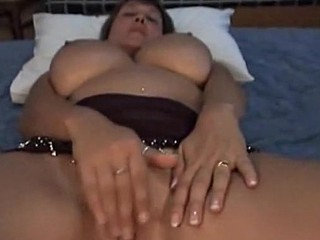 She's so horny, she's literally dripping! Of course her husband couldn't resist the temptation to fuck her brains out and make this cool homemade sex video.