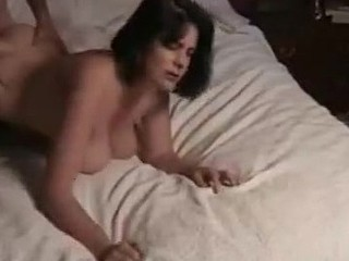 Hot wife looks great for her age and has the biggest tits of all her friends! Her husband loves it and she turns him on with her pussy. When he's ready to cum she knows her big knockers will have to catch it all!
