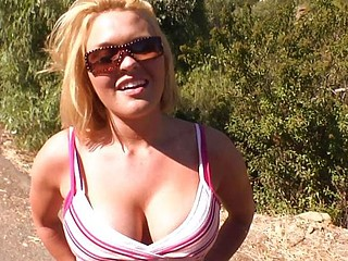 Hiking For A Monster Cock Fucking! w Krissy lynn