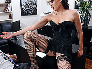 Miko Lee is one strong and assured entrepreneur. When seemingly qualified Keiran Lee walks into the office for an interview, this babe didn't expect this chab would shriek about her large love melons in her face. After all, honesty is a great value. This Babe resolves to prolong the interview, if merely this chab can fuck her real good.