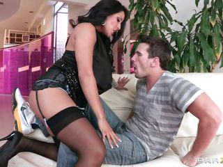 When, a man finds a hot sexy Latina woman, ready to fuck. He will find it very hard to turn away from the temptation. This man is no different, he takes full advantage of this hot MILF, and he sucks and licks her to appoint where she is ready to do anything for him.