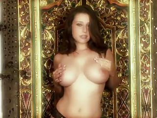 It's another Playboy TV segment. The focus on this one is busty amateurs as well as exotic women who are not lacking in chest size, either. These gorgeous honeys take it all off for the camera in different areas, baring it all. The first one talks about what she looks for in a man. They're hot!
