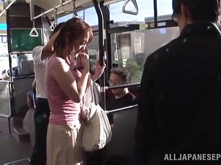 Well, it's another kind of love, the love of dominating pretty girls and use their bodies. This cute and innocent chick soon found out how dangerously public transportation can be when she got surrounded by those men. They've grabbed her and pulled her red panties, the rest is for you to watch and delight yourself