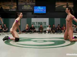 Loser is giving her opponent not only the bragging rights, She is giving her opponent complete mastery over her ass. That is why they are both working so hard to make sure that they are the winner as the third girl joins the party to make sure that she is not left out of the fun and entertainment.