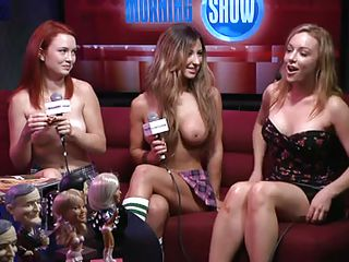 Here some tricks are being played to undress these beautiful babes. Take a look at their nice boobs and cherry like nipples on them. They are interviewed about what makes them horny and what kind of man they desire for. I bet you really want to know the tricks of undressing them.
