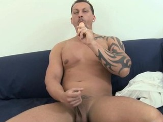 Raw and steamy hawt anal drilling for tough gay stud
