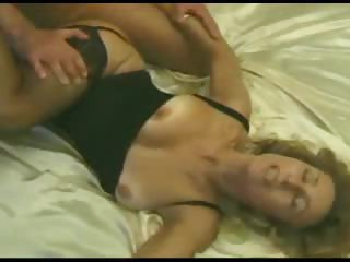 Classy milf eaten out and fucked hard