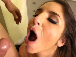 Raging Lexi Brooks is pounded up her pink taco