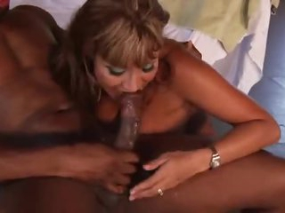 Black guy pounds Ava Devine in the ass
